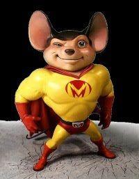 Mighty Mouse La Película I use to watch the cartoons!
