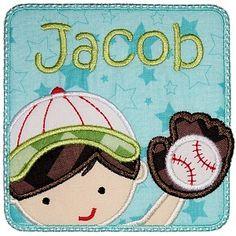 "BaseballBoyPatch_pa  .. 4x4 Hoop: 9090 stitches3.83"" X 3.79"" ..  5x7 Hoop: 11614 stitches4.91"" X 4.86"" ..  6x10 Hoop: 13928 stitches5.92"" X 5.87"""