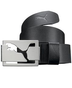 Puma Belt, High Shine Golf Belt - Mens Men's Belts - Macy's