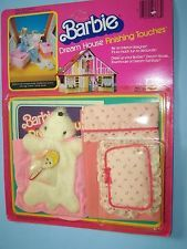 #3768 BARBIE DREAM HOUSE FINISHING TOUCHES - BEDROOM  (c) 1981