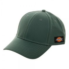 bc7ef83d4cc2f0 Dickies Core Lincoln Green Adjustable Cap Baseball Hat - Officially  Licensed #Dickies #BaseballCap 6