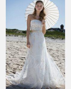 Tulle Satin  Court Train Strapless Sheath Wedding Dress. $252.70