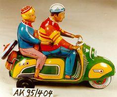 vintage toy vespa