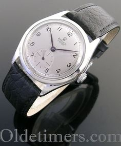 1940s steel vintage Rolex Oyster watch (3950)
