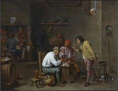 "Patrimonio Nacional on Twitter: """"Escena de taberna"", de Teniers, es una obra recuperada de las Colecciones Reales de Patrimonio Nacional https://t.co/xs1LdmK7gN"""