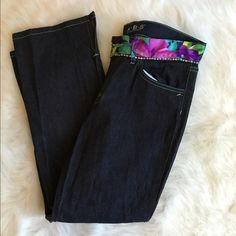 AUTHENTIC A.B.S by Allen Schwartz Jeans Brand new!! Never worn! These are in mint condition. 15 inches across the waist. 26 inch inseam. Please keep in mind that these retail for $250!! NO TRADES PLEASE ABS Allen Schwartz Jeans Boot Cut