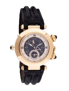 Cartier Pasha Moon Phase Watch