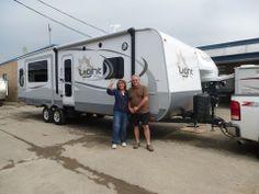 Congratulations Andy & Vicky.  Enjoy your new Open Range Light 274RLS Travel Trailer