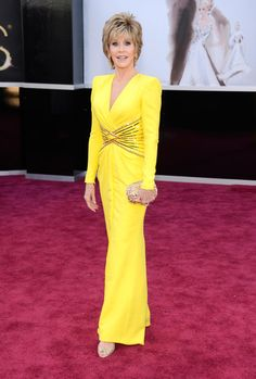Oscar 2013 Red Carpet Gallery: Jane Fonda
