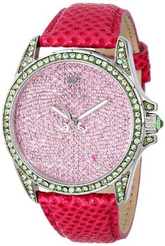 Quartz Leather-based strap Juicy Couture Watches