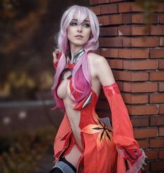 Post with 38 votes and 126124 views. Tagged with cosplay, creativity; Anissa Cosplay as Inori Yuzuriha (Guilty Crown) Love Live Cosplay, Cute Cosplay, Amazing Cosplay, Halloween Cosplay, Cosplay Outfits, Best Cosplay, Anime Cosplay, Cosplay Girls, Steam Punk