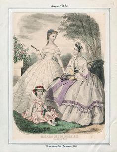 Magasin des Demoiselles August 1862 LAPL