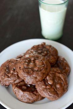 Chocolate Brownie Cookies (http://www.foodandwine.com/recipes/chocolate-brownie-cookies)