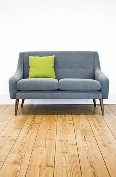 Our beautiful Clement sofa was inspired by some of the many stunning vintage designs we have sold in the past, and in itself boasts classic mid century appeal. Available on our website in a large choice of exciting fabrics and colours: http://www.johnnymoustache.com/our-collection/contemporary/sofas/clement-large-sofa-fabric.html
