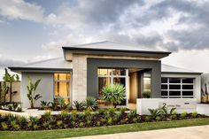 Explore our range of award winning home designs here. Choose your dream home design now with Dale Alcock. Available in Perth or the South-West. House Elevation, Front Elevation, Front Yard Design, Facade House, House Facades, Family House Plans, Contemporary House Plans, Grand Homes, Custom Built Homes