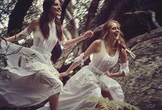 Pheobe Tonkin & Teresa Palmer by Will Davidson for Vogue Australia March 2015