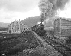 Title: Haugastøl Railway Station Artist:Anders Beer Wilse