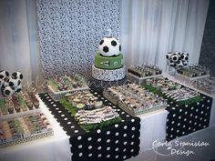 fiesta tematica futbol para niños - Buscar con Google