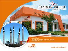 #lasmejorescasasdemexico LAS MEJORES CASAS DE MÉXICO. En Grupo Sadasi, le invitamos a conocer nuestro desarrollo PRADO NORTE, ubicado en Av. Yaxche esq. Av. Chetumal SM 256 en Cancún, Quintana Roo. Este bonito fraccionamiento, cuenta con todos los servicios y se encuentra en una zona de gran plusvalía al norponiente de la ciudad. Le invitamos a conocer los prototipos de casa que tenemos para usted. http://www.pradonorte.com.mx