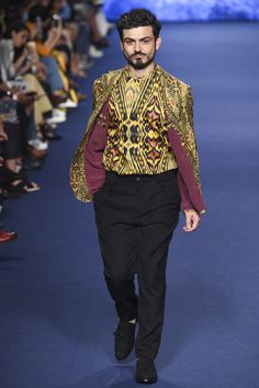 Etro Spring/Summer 2017 Menswear Milan Fashion Week