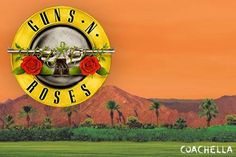 Guns N' Roses have confirmed that they will perform two concerts at this year's Coachella festival, on April 16 and 23.