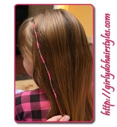 Hair wraps. Uh, Miss @Rachel Williams? This type comes out without cutting your hair... come over and we'll do them :)