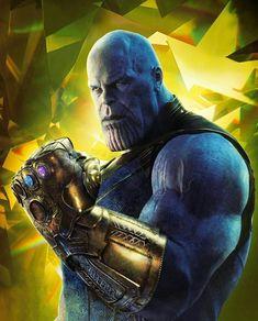 Thanos com a Manopla do Infinito