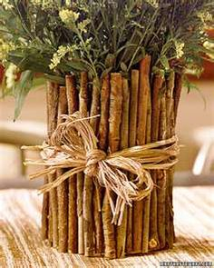 Upcycling: Coffee Can Twig Flower Vase : Factory Direct Craft Blog