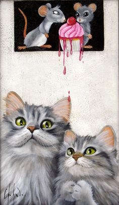 Tableau de Chehade-studio.com Owl, Candy, Bird, Studio, Animals, Pictures To Paint, Board, Cat Breeds, Animaux