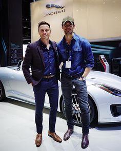 David Gandy at LA Auto Show 2017