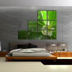 Sound absorbing pictures - Bedroom