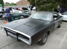 Not the General Lee Classic Hot Rod, Classic Cars, Murdered Out, 1969 Dodge Charger, General Lee, Sweet Cars, Drag Cars, American Muscle Cars, Chevy Trucks
