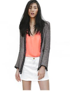 Zara Lookbook Spring 2012  Tweed