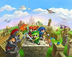 The Legend of Zelda: Tri Force Heroes is launching on the Nintendo 3DS on October 24 and as they usually do Nintendo have released a tidy overview trailer showing their fans all the cool things they can do in the game.