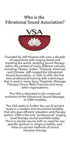 Who is the VSA?
