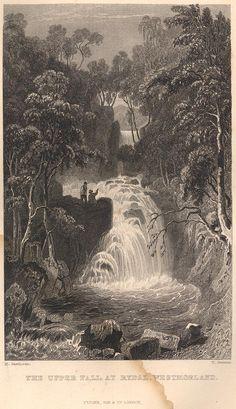 Rydal Falls, upper waterfall