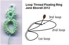 Loop Thread Floating Ring - Jane Eborall 2012