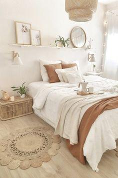 Room Ideas Bedroom, Home Decor Bedroom, White Bedroom Decor, Dorm Room Themes, Zen Bathroom Decor, Sage Green Bedroom, Parisian Bedroom, Teen Bedroom Designs, Pretty Bedroom