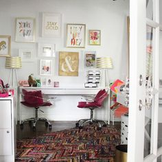 Our new HQ AKA The Party Palace is slowly but surely coming along  {insert country music dogs flying confetti disco ball glimmers endless amounts of popcorn and frantic running around} and it feels JUST like home Austin you suit us well! Did you guys catch our founder @jordanplusjones's insight on why we moved last night on our blog?! Go peep it and hear our real reasons for leaving San Francisco and  what's next for us Party Girls