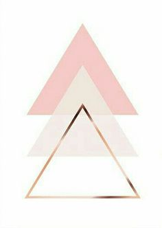 love the colors: peach (although this might be a bit more blush), white, and gold. I also love the triangles as a modern spiritual symbol. Cute Backgrounds, Cute Wallpapers, Wallpaper Backgrounds, Iphone Wallpaper, Triangle Art, Tumblr Wallpaper, Geometric Art, Pattern Wallpaper, Wall Prints