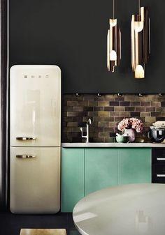 Retro style kitchen!