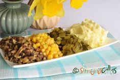 Salata de ciuperci cu maioneza Vegetables, Breakfast, Food, Festivus, Salads, Morning Coffee, Essen, Vegetable Recipes, Meals