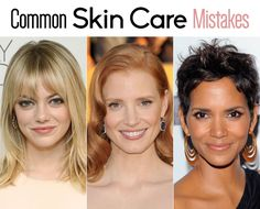 Common skin care mistakes and how to avoid them.