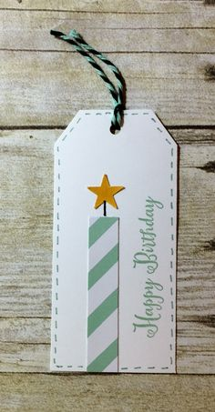 Cards by Kadie paper packages wrapping packaging tags wrapping gifts gifts paper gifts papers Handmade Birthday Gifts, Happy Birthday Gifts, Paper Tags, Kraft Paper, Christmas Gift Tags, Christmas Wrapping, Holiday Gifts, Homemade Gift Tags, Birthday Tags