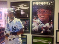 O Captain! My Captain! Birmingham Art, Derek Jeter, New York Yankees, Baseball Cards