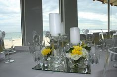 A lovely wedding we did at Sails By The Bay in St. Kilda. #beachweddings #melbourne #melbourneweddings #melbournebeaches #Australiaweddings #melbourneevents #events #floral #pretty #weddingdecor #decoration #beauty #crystal #weddingcrystal#beachwedding #melbourne #melbournebeaches #melbournewedding #weddingdecor #weddingdecorations #weddingdesign #weddingstyling www.decorit.com.au (7) Candelabra, Candlesticks, Wedding Designs, Wedding Styles, Crystal Centerpieces, Beach Ceremony, Melbourne Wedding, St Kilda, Wedding Decorations