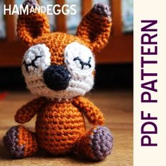 2014 Animal Patterns -  Amigurumi Sleepy Fox Forest Buddy