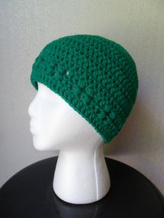 Kylie Hat in Kelly Green  Beanie Beenie Cloche by LilacsLovables, $18.00
