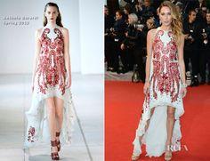 Erin Wasson In Antonio Berardi – 'Amour' Cannes Film Festival Premiere