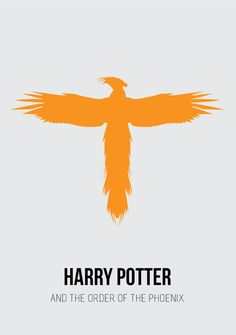Harry Potter and the Order of the Phoenix 8 Minimalist Harry Potter Posters You'll Totally Geek Out Over Harry Potter Poster, Harry Potter Books, Harry Potter Love, Harry Potter Universal, Gina Weasley, Must Be A Weasley, Lord Voldemort, Hogwarts, Ron Y Hermione